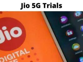 Jio 5G Trials