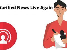 Just Varified News Live Again